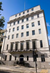 Offices of The Nursing and Midwifery Council ¿ NMC at 23 Portland Place London W1B 1PZ. UK.